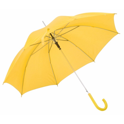 Picture of AUTO STICK UMBRELLA in Yellow