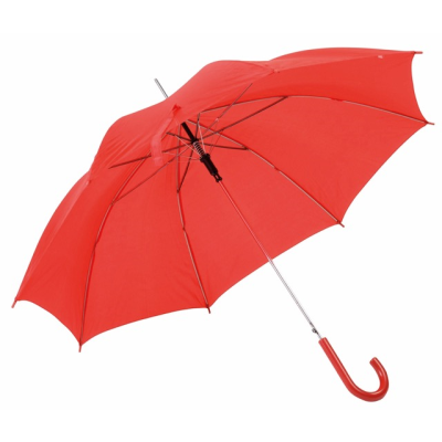 Picture of AUTO STICK UMBRELLA in Red