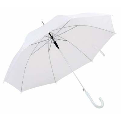 Picture of AUTO STICK UMBRELLA in White