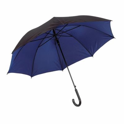 Picture of AUTOMATIC STICK UMBRELLA in Black & Blue