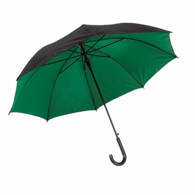 Picture of AUTOMATIC STICK UMBRELLA in Black & Green