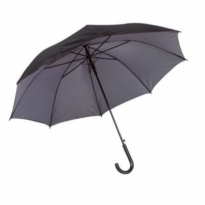 Picture of AUTOMATIC STICK UMBRELLA in Black & Grey
