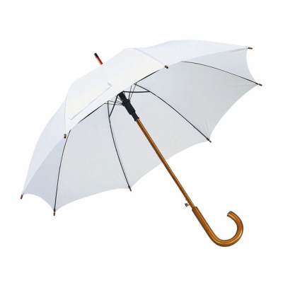 Picture of TANGO AUTO STICK UMBRELLA in White