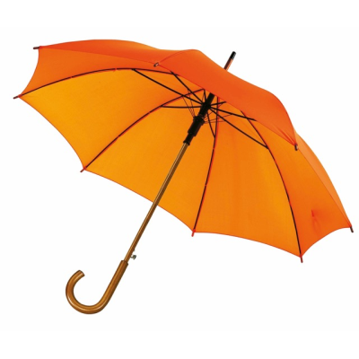 Picture of TANGO AUTO STICK UMBRELLA in Orange