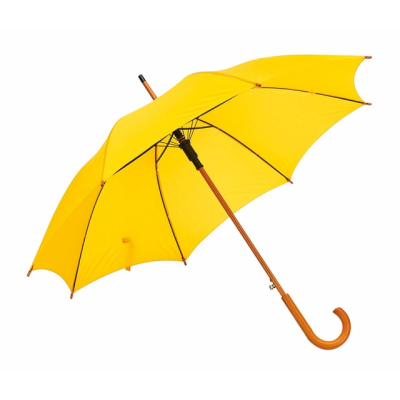 Picture of TANGO AUTO STICK UMBRELLA in Yellow