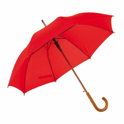 Picture of TANGO AUTO STICK UMBRELLA in Red