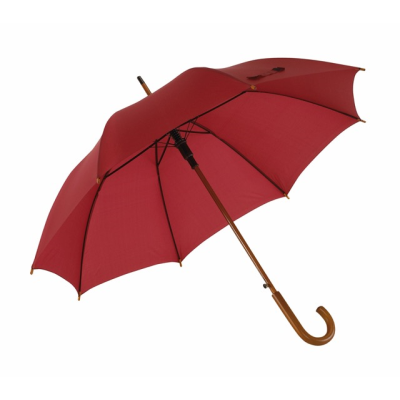 Picture of TANGO AUTO STICK UMBRELLA in Bordeaux Red