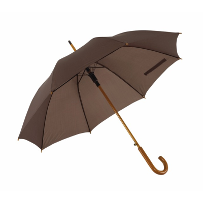 Picture of TANGO AUTO STICK UMBRELLA in Dark Brown