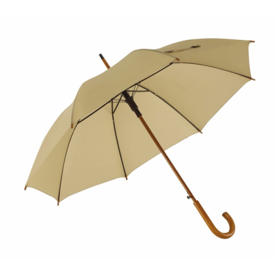 Picture of TANGO AUTO STICK UMBRELLA in Beige