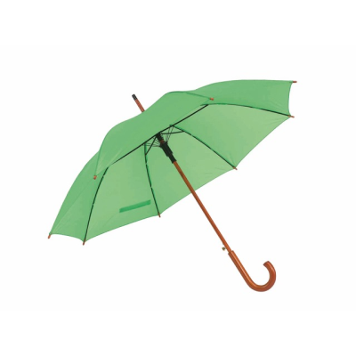 Picture of TANGO AUTOMATIC WOOD SHAFT UMBRELLA in Pale Green