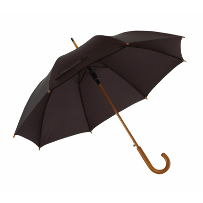 Picture of BOOGIE AUTOMATIC WOOD SHAFT UMBRELLA with Wood Crook Handle