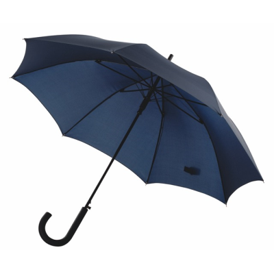Picture of AUTOMATIC WINDPROOF STICK UMBRELLA in Navy Blue