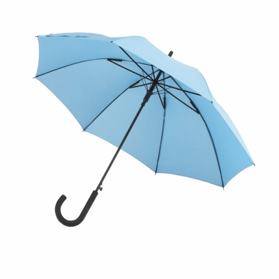 Picture of AUTOMATIC WINDPROOF STICK UMBRELLA in Light Blue
