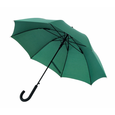 Picture of AUTOMATIC WINDPROOF STICK UMBRELLA in Dark Green