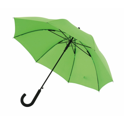 Picture of AUTOMATIC WINDPROOF STICK UMBRELLA in Pale Green