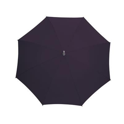 Picture of AUTOMATIC STICK UMBRELLA in Purple with Matching Sleeve in Handle