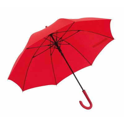 Picture of LAMBARDA AUTOMATIC STICK UMBRELLA in Red