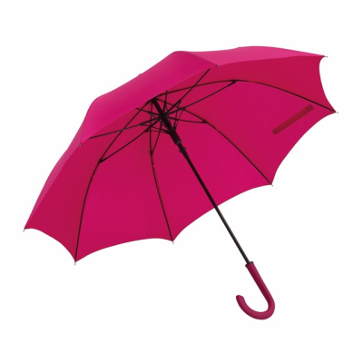 Picture of LAMBARDA AUTOMATIC STICK UMBRELLA in Dark Pink