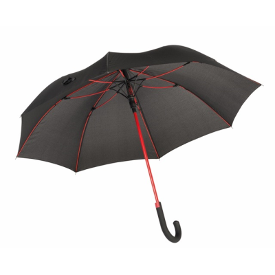 Picture of CANCAN AUTOMATIC STICK UMBRELLA in Red