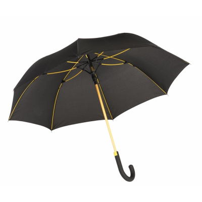 Picture of CANCAN AUTOMATIC STICK UMBRELLA in Yellow