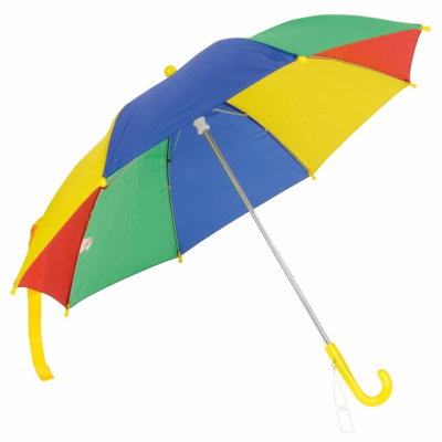 Picture of LOLLIPOP CHILDRENS UMBRELLA in Red Blue Green & Yellow