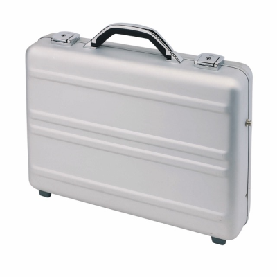 Picture of CYBER EXECUTIVE ATTACHÉ BRIEFCASE in Silver Aluminium Metal