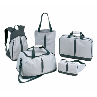 Picture of BASIC 5 PIECE LUGGAGE SET in Grey