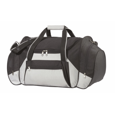 Picture of ICELAND TRAVEL BAG in Black & Grey