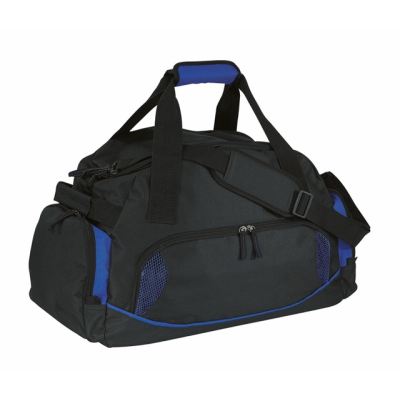 Picture of DOME SPORTS BAG in Black & Blue