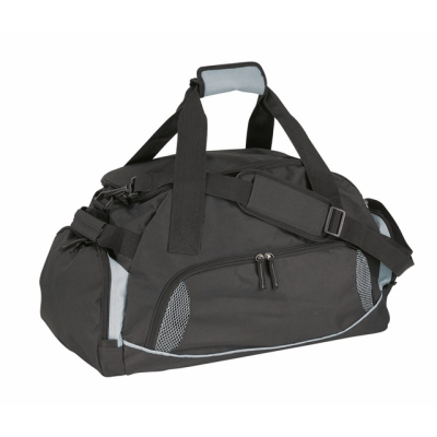 Picture of DOME SPORTS BAG in Black & Grey