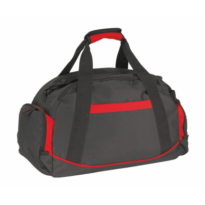 Picture of DOME SPORTS BAG in Black & Red