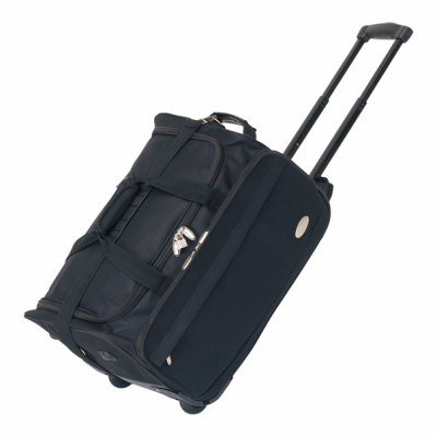Picture of AIRPACK TROLLEY BAG HOLDALL in Black