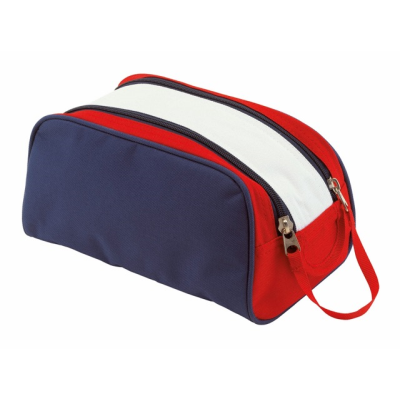Picture of MARINA TOILETRY WASH BAG in Blue Red & White