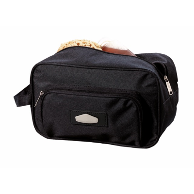 Picture of LASER PLUS TOILETRY WASH BAG in Black