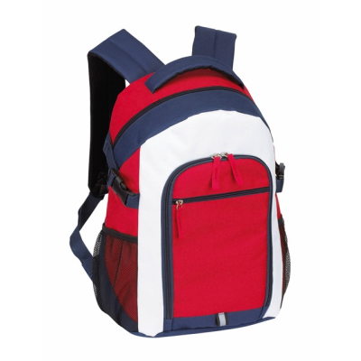 Picture of MARINA BACKPACK RUCKSACK in Blue Red & White
