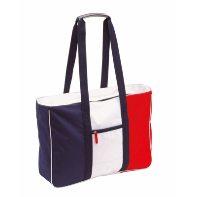 Picture of MARINA BEACH BAG in White Blue & Red