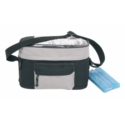 Picture of BICYCLE COOL BAG in Black & Grey