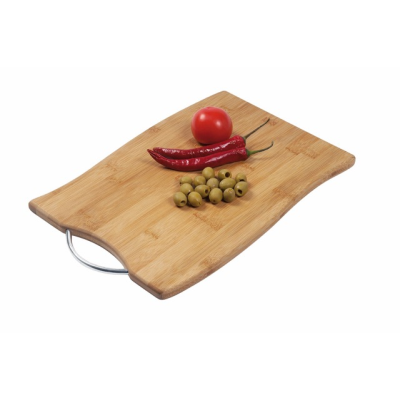 Picture of BAMBOO-GRIP CUTTING BOARD in Brown