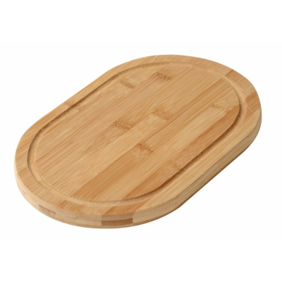 Picture of BAMBOO-ROUND CUTTING BOARD in Brown