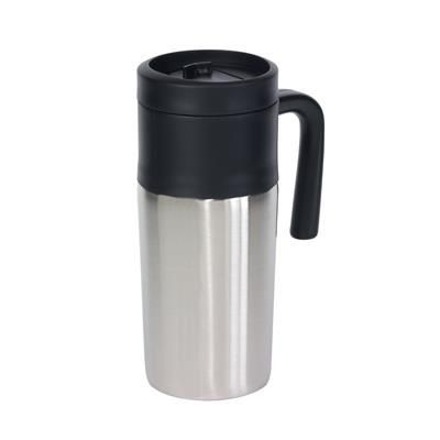 Picture of GRAB & GO DOUBLE-WALLED FLASK in Silver