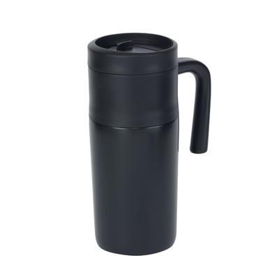 Picture of GRAB & GO DOUBLE-WALLED FLASK in Black
