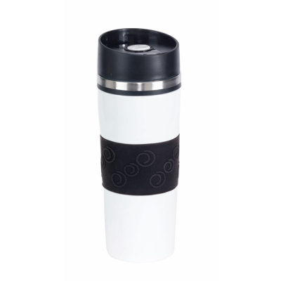 Picture of ARABICA DOUBLE-WALLED FLASK in White