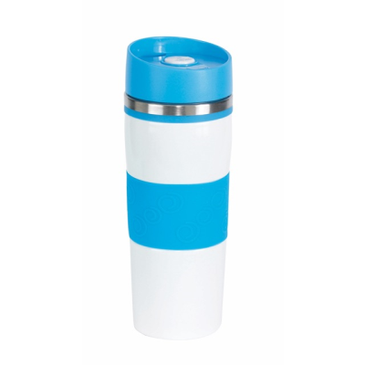 Picture of ARABICA DOUBLE-WALLED FLASK in Light Blue