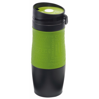 Picture of GOLDEN DREAM DOUBLE-WALLED FLASK in Black & Grey