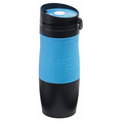 Picture of GOLDEN DREAM DOUBLE-WALLED FLASK in Black