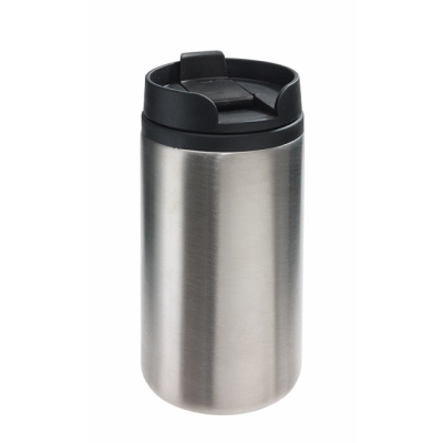 Picture of TAKE FAST TRAVEL MUG in Silver