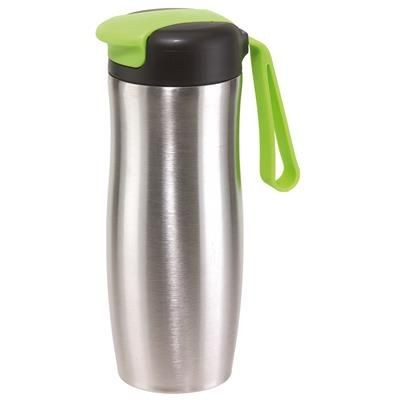Picture of TAKE IT DOUBLE-WALLED TRAVEL MUG in Green