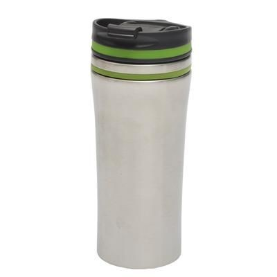 Picture of LIBERICA DOUBLE-WALLED TRAVEL MUG in Silver