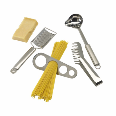 Picture of SPAGHETTI SET in Silver Stainless Steel Metal