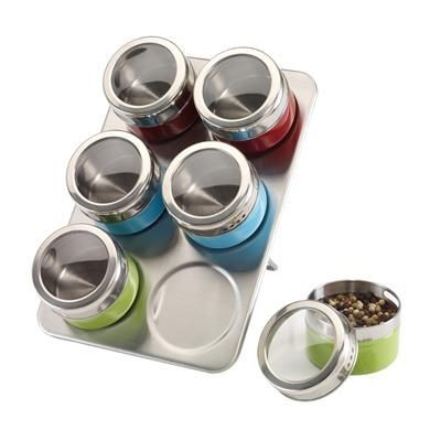 Picture of STAINLESS STEEL METAL SPICE RACK